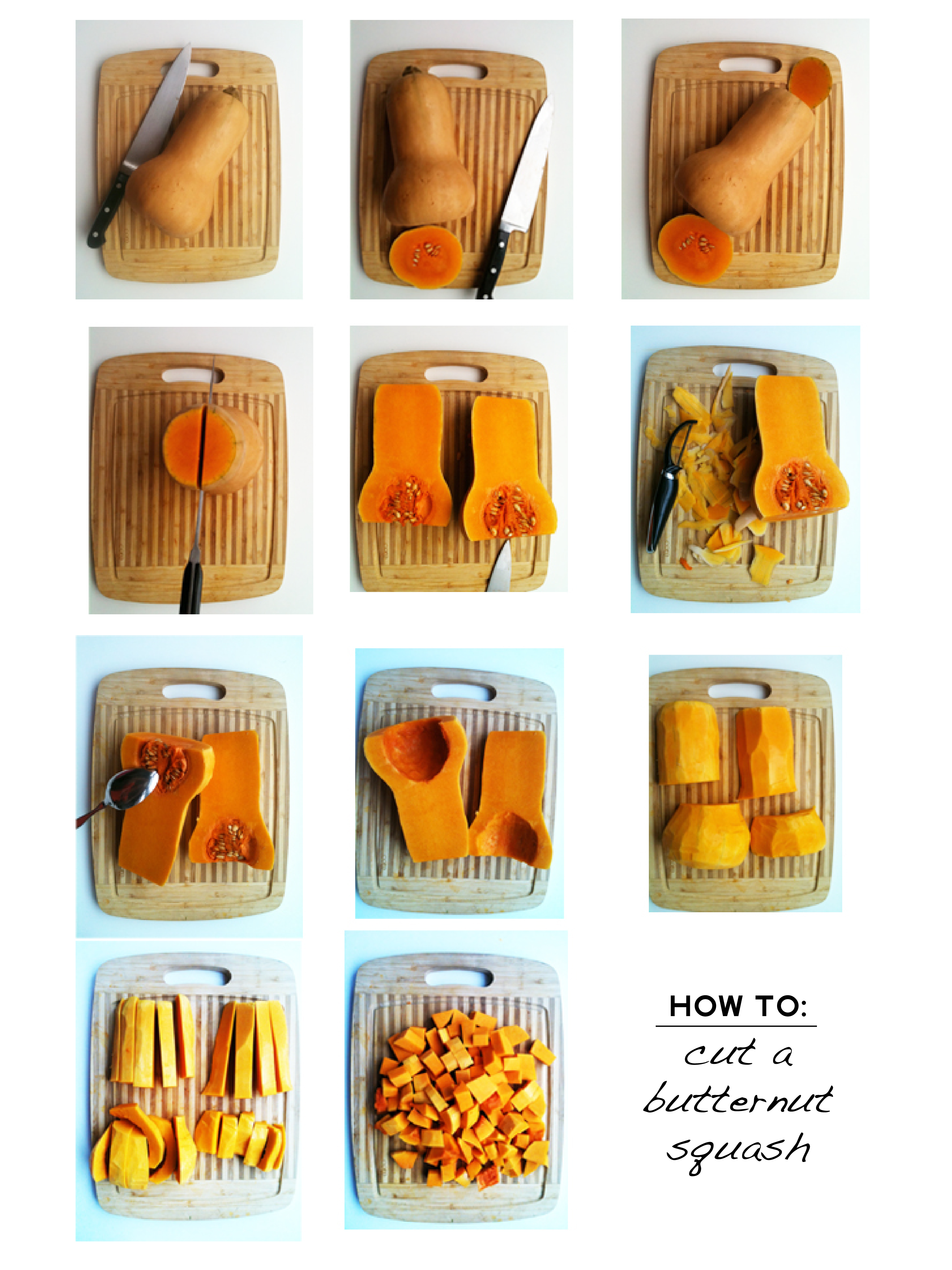 How to Cube Butternut Squash How to Cube Butternut Squash new picture